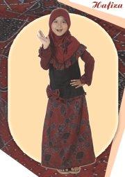 gamis batik remaja hafiza