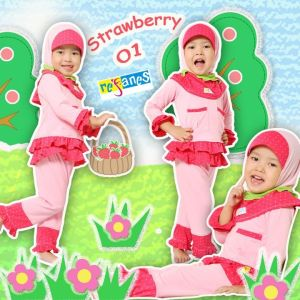 Strawberry 01. size 6 (5,5-6thn) 210.000 size 7 (6-7tahun) rp.212.000 order SMS.081314165023 (SMS ONLY), Pin 2969012F