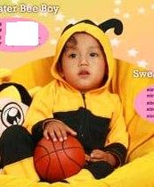 Sweater Bee Lebah. size 4 (3-4tahun) rp.124.000 size 5 (4-5tahun) rp.133.00 size 7 (6-7tahun) rp. 146.000 order sms 081314165023 (sms only), pin 2969012F.